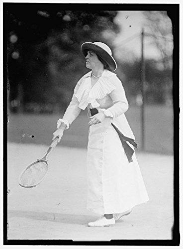 rapped Framed Print of Morehead, Mrs. J. Upshur 1913 Harris & Ewing 05a ()