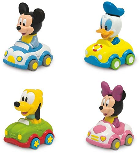 Disney Clementoni 14659 Baby Cars Soft & Go