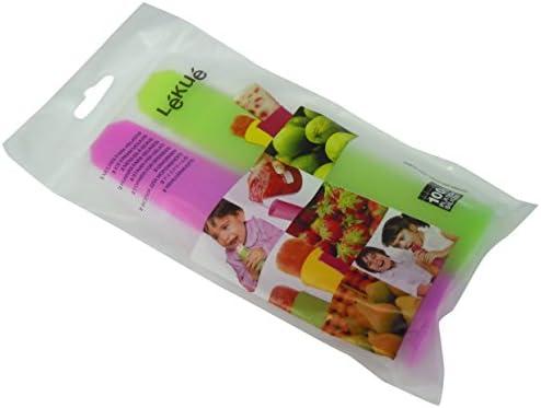 Compra Lékué Luki - Molde para helados, dos unidades, color verde ...