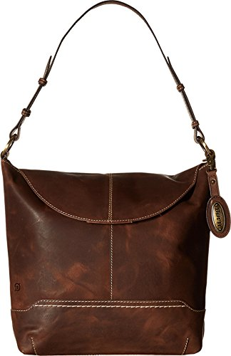 Born Women's Echo Flap Hobo Chocolate Hobo