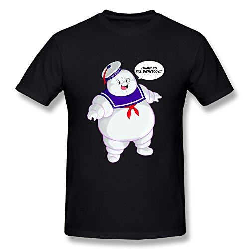 [Mad Engine, Ghostbusters Men's Logo To Go T-Shirt] (Cabaret Costumes For Men)