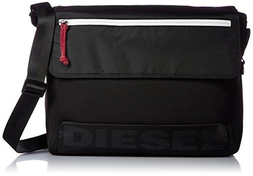 Diesel Men's Scuba Messenger Bag, Black