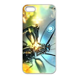 Cteative Insect Robot Custom Protective Hard Phone Cae For Iphone 5s