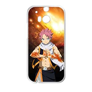 HTC One M8 Cell Phone Case White Natsu F7939281