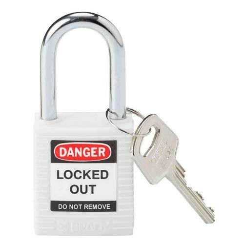 Brady 143123, blanco candado de seguridad, (Pack de 10 unidades): Amazon.es: Amazon.es