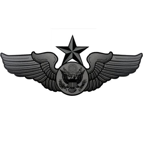 Enlisted Badge - U.S. Air Force Senior Enlisted Aircrew Badge Clear Decal