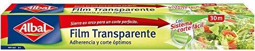 ALBAL Transparenter Film, 1er Pack(1 x 200 g)