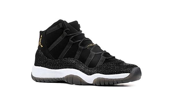 Zapatos de Mujer NIKE Air Jordan 11 Retro Prem HC en Cuero Negro 852625-030: Amazon.es: Zapatos y complementos