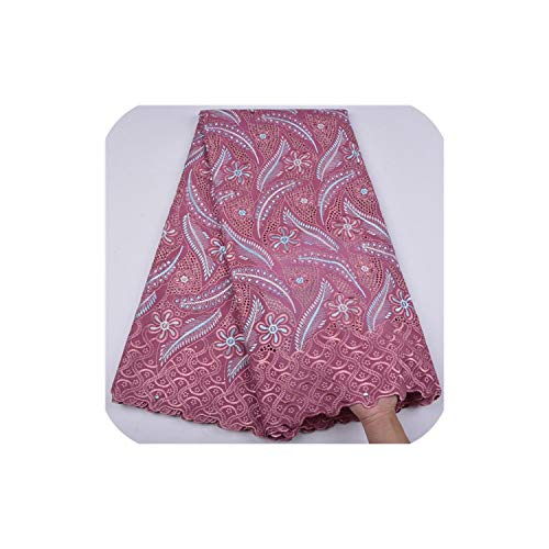 African Peach Cotton Swiss Voile Lace Fabric African Swiss Voile Lace Cotton Lace Fabric,As Picture