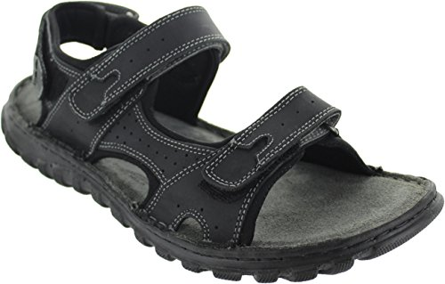 Lotus Sandal Raft Black Open quigley Black Toe Leather OrqvOBwp