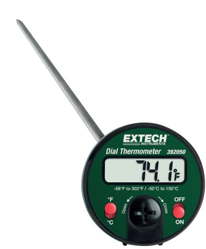 Extech 392050 Penetration Stem Thermometer