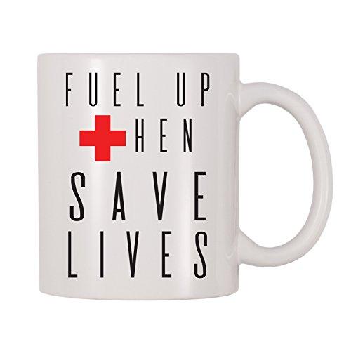 - 4 All Times Fuel Up Then Save Lives Coffee Mug (11 oz)