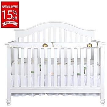 Amazon Com Leachco Organic Easy Teether Crib Rail Cover