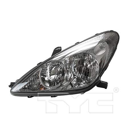 CarLights360: Fits 2002 2003 Lexus ES300 Headlight Assembly Driver Side (Left) NSF Certified w/Bulbs Halogen Type - Replacement for LX2502114 ()