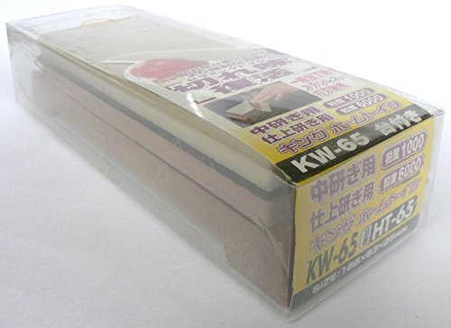 KING: Whetstone #1000/#6000 Japanese sharpening waterstone New [KW-65] ~ITEM #GH8 3H-J3/G837696
