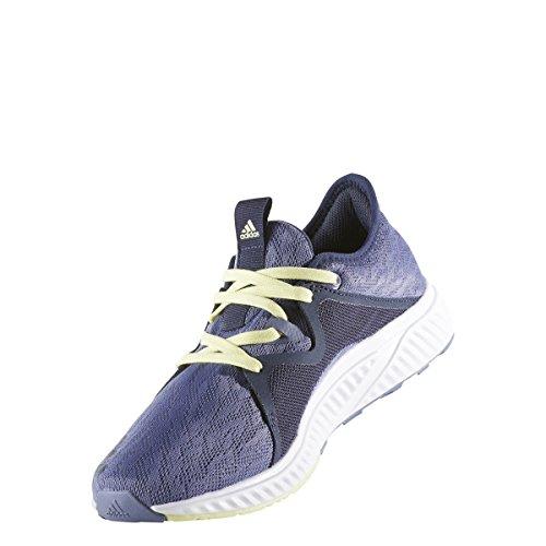 Adidas Womens Edge Lux 2.0 Scarpe Da Corsa Viola-traccia Blu-ghiaccio Giallo