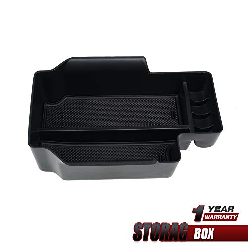 Price comparison product image Center Console Armrest Insert Organizer ABS Black Tray Pallet Storage Box Container for 2015-2019 Chevy Colorado and GMC Canyon