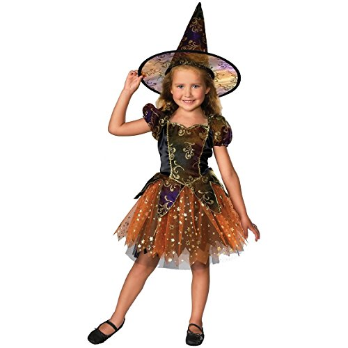 Elegant Witch Child Costumes (Elegant Witch Child Costume - Small)