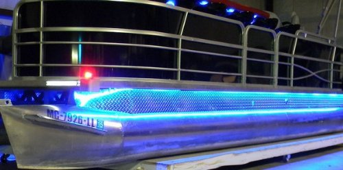 Amazon led pontoon boat light kit sports outdoors aloadofball Image collections