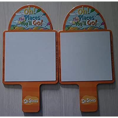 Horizon Group Dr. Seuss Wipe Clean Dry Erase Game Paddles Set of 4: Toys & Games