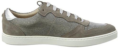 Belmondo 703376, Women's Low-Top Sneakers Silver - Silber (Argento)