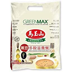GREENMAX Black Soybean and Multi Grains Meal, 14.7 Ounce