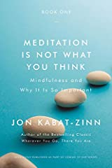 Meditation Is Not What You Think: Mindfulness and Why It Is So Important Paperback