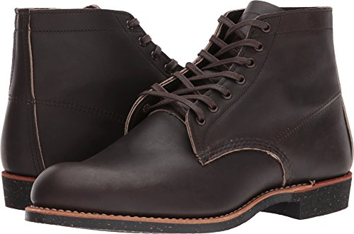 Red Wing Mens Merchant 6-Inch Ebony Harness Leather Boots 9 US