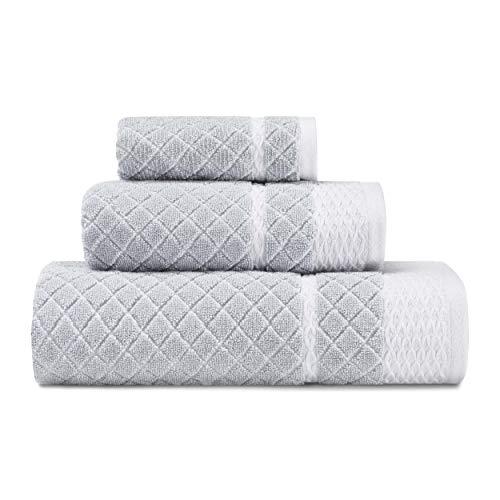Laura Ashley Bath - Laura Ashley Vintage Trellis Towel Set, 54 x 28, Blue