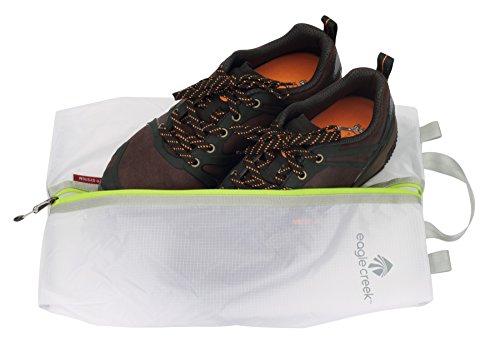 41QN%2Brvv8YL - Eagle Creek Pack-It Specter Shoe Sac Set, White/Strobe, Set of 2