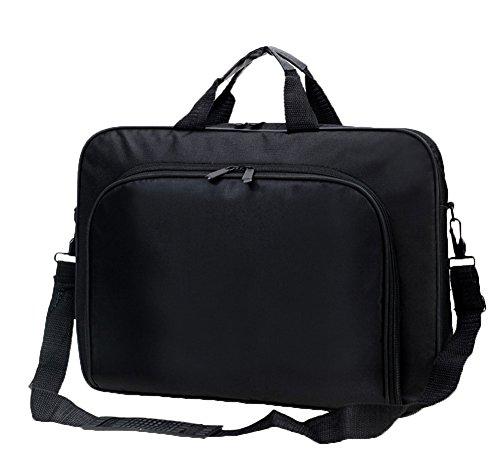 Messenger Bag For 15 Inch Laptop Computer Bag Macbook Shoulder Bag Business Backpack College Bookbag Travel Business Backpack Black Bag by FL Margaret (Image #7)'