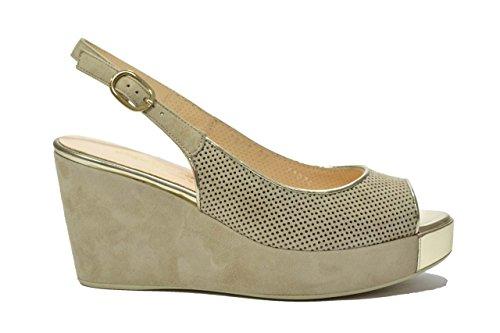 Melluso Sandali zeppa corda scarpe donna Y1074