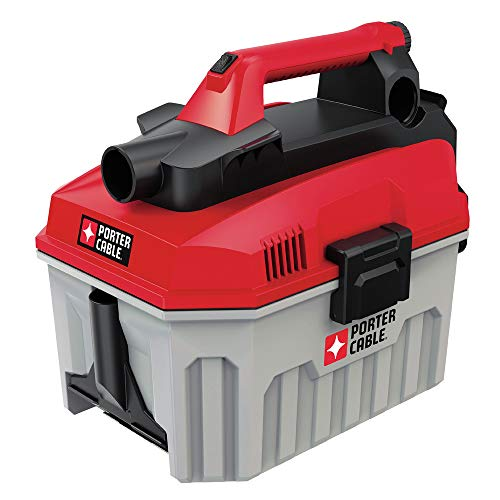 Porter-Cable PCC795BR 20V MAX 2 Gallon Wet/Dry Vacuum (Bare Tool) (Renewed)