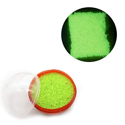 - Hot Sale!DEESEE(TM)Glow in The Dark Luminous Sand Fluorescent Particle Decoration Luminous Ball (G)