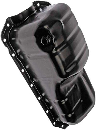 (APDTY 375131 Engine Oil Pan Fits 1990-1994 Mazda 323, 1992-1993 Mazda MX-3, 1999-2001 Mazda Protege (1.6L Engines Only; Replaces B366-10-400A, B541-10-428, B36610400A, B54110428))