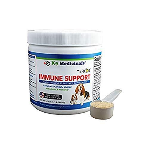 K9 Medicinals – Armor UP – K9 Immunity Blend – Medicinal Mushroom Supplement for Dogs with Cancer Immune Support for…