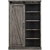 Martin Furniture IMAE4872G Bookcase, Grey