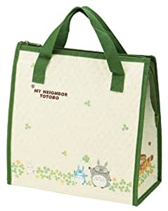 totoro design reusable bento box lunch bag with thermal linning home kitchen. Black Bedroom Furniture Sets. Home Design Ideas