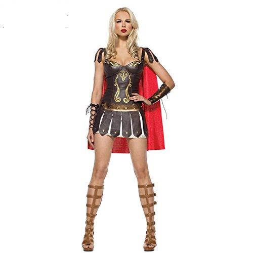 Taipin Costumes for Roman women warrior costumes for Halloween Greek war (Female Roman Costume)