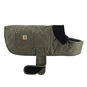 Carhartt Chore Coat, Dog Vest, Water Repellent Cotton Duck Canvas 18
