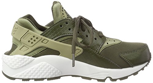 Cargo Femme WMNS 201 Huarache Run Air NIKE Formateurs Les Multicolore Olive Neutral vYdqv6