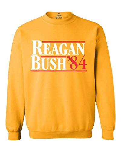 Reagan Bush 84 Crewneck Sweatshirt. Many Colors - S to 5XL