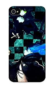 High-quality Diushoujuan Protection Case For Iphone 4/4s(anime Black Rock Shooter Dead Master) For New Year's Day's Gift
