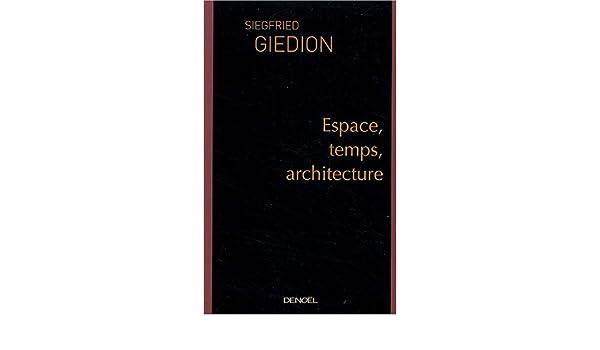 espace temps architecture