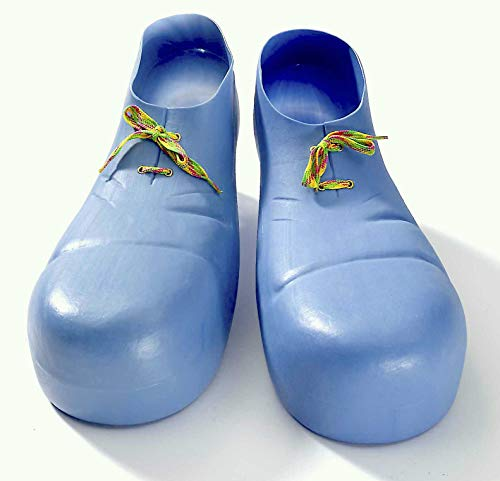 Forum Novelties Jumbo Clown Shoes, Blue