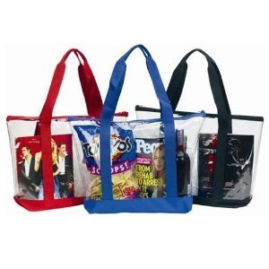 Clear Tote Bag Zipper Closure product image