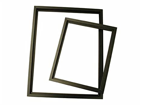 Amazon.com: Nielsen Metal Frame Kit Accents Black 39In: Kitchen & Dining