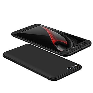 Funda Xiaomi Mi6 Mi 6, 360 Grados Integral Carcasa Cuerpo Completo Caso Cubierta, 3 en 1 Híbrido Anti-Choque Snap On Diseño Case, Anti-Arañazos ...