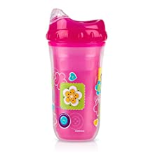 Nuby Insulated Cool Sipper 9oz Pink