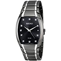 Seiko SNE335 Dress Solar Analog Display Quartz Men's Watch